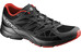 Salomon Sonic Aero Trailrunning Shoes Men black/autobahn/radiant red
